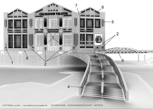colosseum theater essen lichtplanung und. Black Bedroom Furniture Sets. Home Design Ideas